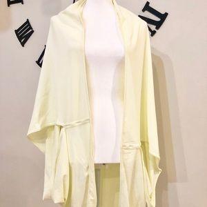Lululemon Vinyasa Yellow wrap scarf